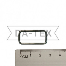 25x10 mm Metal frame black...