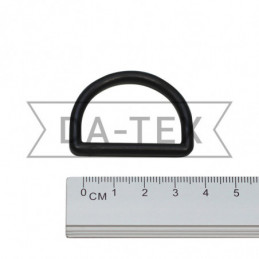 30 mm Plastic semi ring black