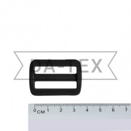 32 mm Plastic buckle black
