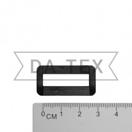 25 mm Plastic frame black