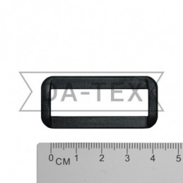38 mm Plastic frame black