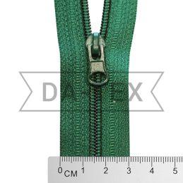 50 cm Nylon zipper N.5 green