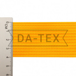 40 mm PP tape 18 g/m yellow