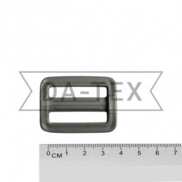 32 mm Plastic buckle grey