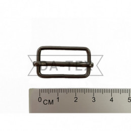 25x13 mm Metal buckle black...