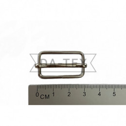25x13 mm Metal buckle nikel