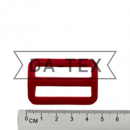 38 mm Plastic buckle РОМ red