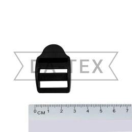 20 мм Пряжка пластикова чорний