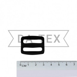 25 mm Plastic buckle black
