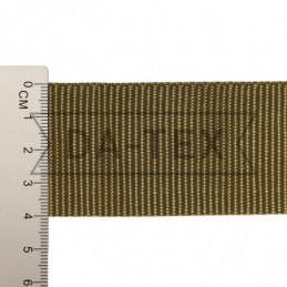 40 mm PP tape 18 g/m khaki