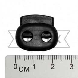 22 mm 2-holes oval stopper...