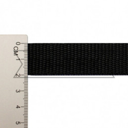 20 mm NYLON tape black
