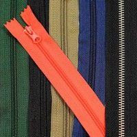 Застібка блискавка (zipper). Металева, тракторана, спіральна | Купити оптом