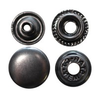 Кнопки металеві для одягу